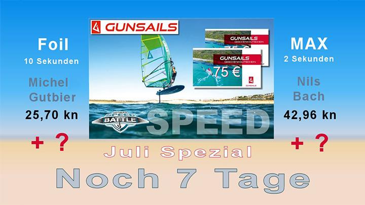 Gun Sails Juli Spezial